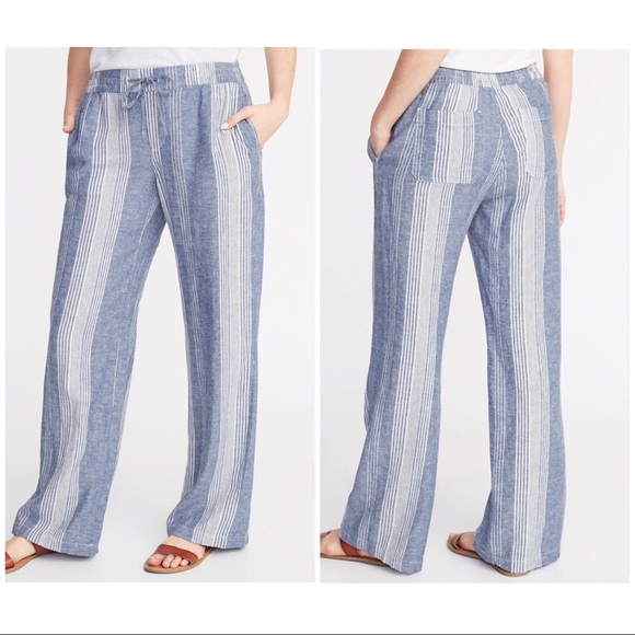 07b23f4d00 Old Navy Pants | Linen Blend Resort Beachwear | Poshmark